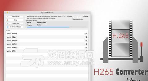 H265 Converter Pro Mac破解版