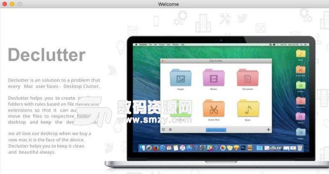 Declutter苹果电脑版界面