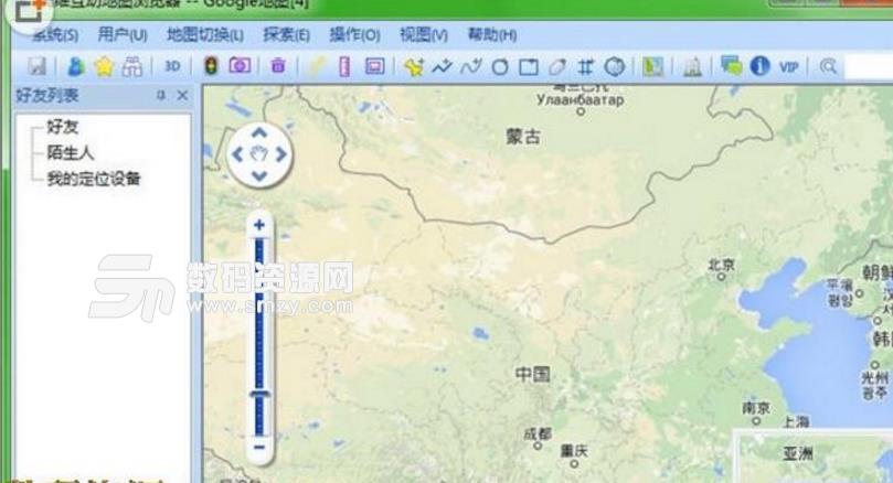 奧維互動地圖瀏覽器截圖