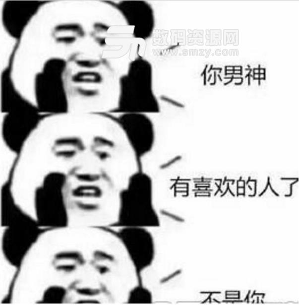2018你依然单身熊猫头表情包(斗图专用) 高清版图片