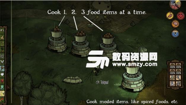 饥荒墓地mod_饥荒联机版豪华烹饪锅mod(饥荒mod) 免费版