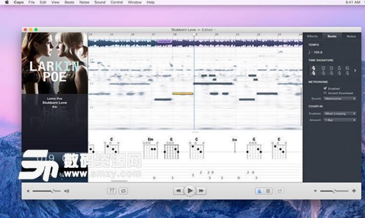 Capo Mac版界面
