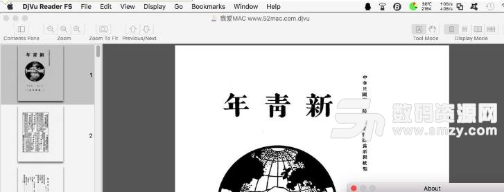 DjVu Reader FS for Mac特色