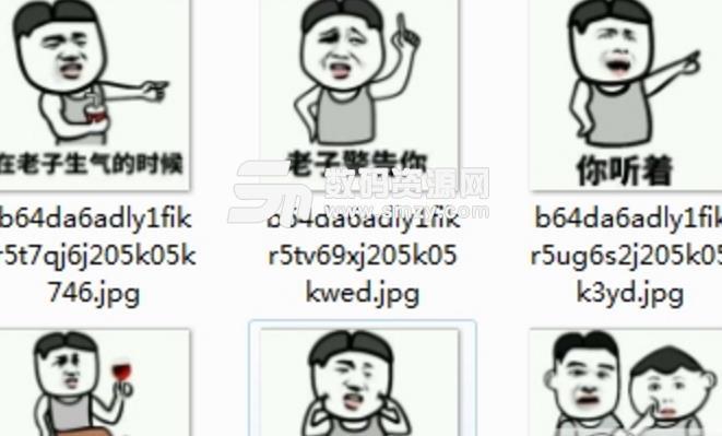 不要和老子嬉皮笑脸qq表情包(我会忍不住笑出来) v1.0 免费版图片