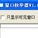 窗口枚举器正式版(函数作了屏蔽) v1.0 最新版