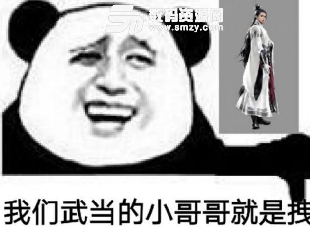 楚留香武当qq表情包(武当的小哥哥就是拽) 免费版图片