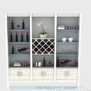 3d免费模型之现代风格酒柜设计模型