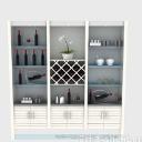 3d免費模型之現代風格酒柜設計模型