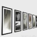 畫展展示畫廊畫框設計3d模型