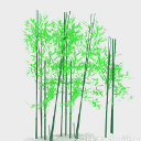 綠植竹子免費3d模型