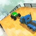 锁链汽车巨大坡道3D手机版