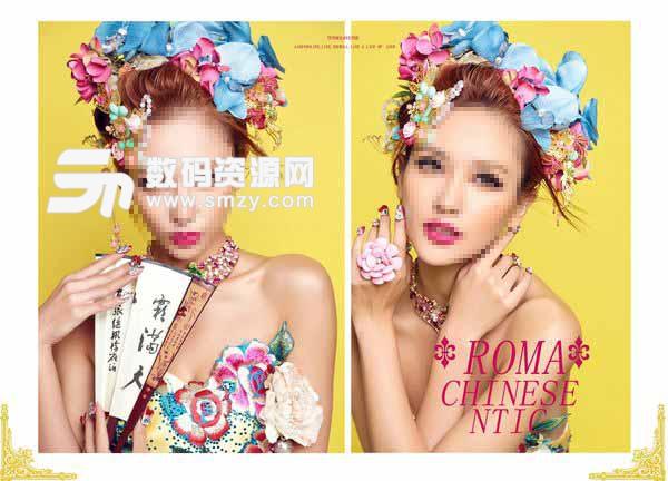 婚纱照相册模板 Roma 03