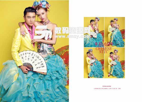 婚纱照相册模板 Roma 06