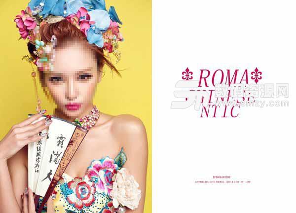 婚纱照相册模板 Roma 07