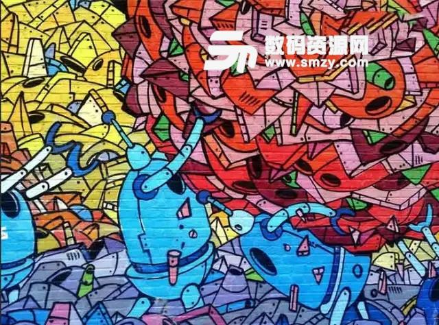 PS教你如何制作艺术感超强的墙面涂鸦
