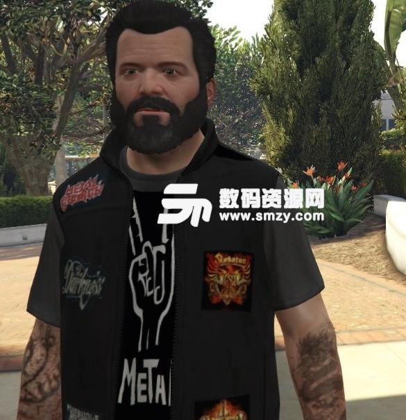 GTA5战斗夹克衫MOD