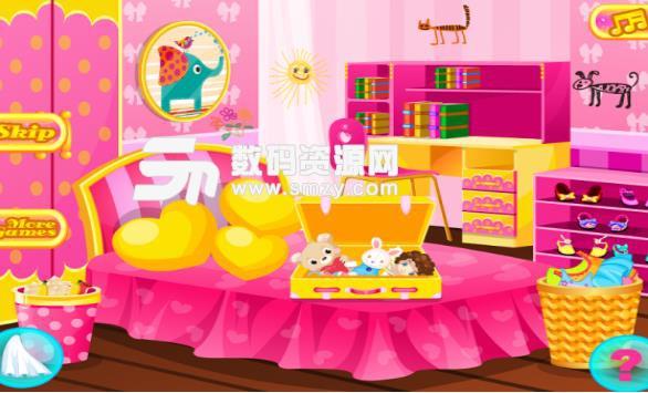 孩子们的卧室清洁游戏手机版图片