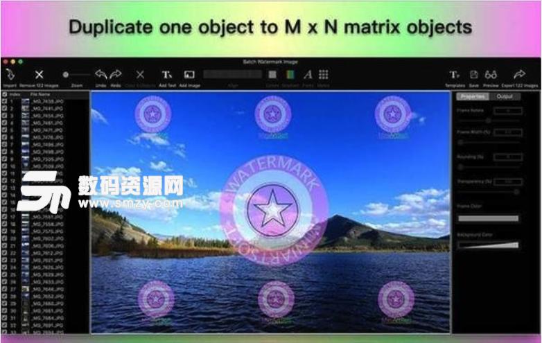 Batch Watermark Image Mac版特點