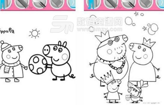 小猪佩奇魔法绘画app手机版(儿童绘画app) v0.0.0 安卓版