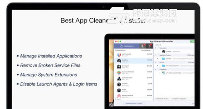 App Cleaner and Uninstaller Mac版特点