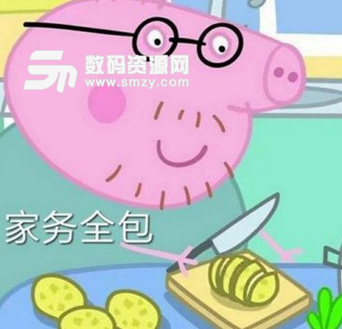 小猪佩奇放假回家待遇表情包(高清大图) 无水印版