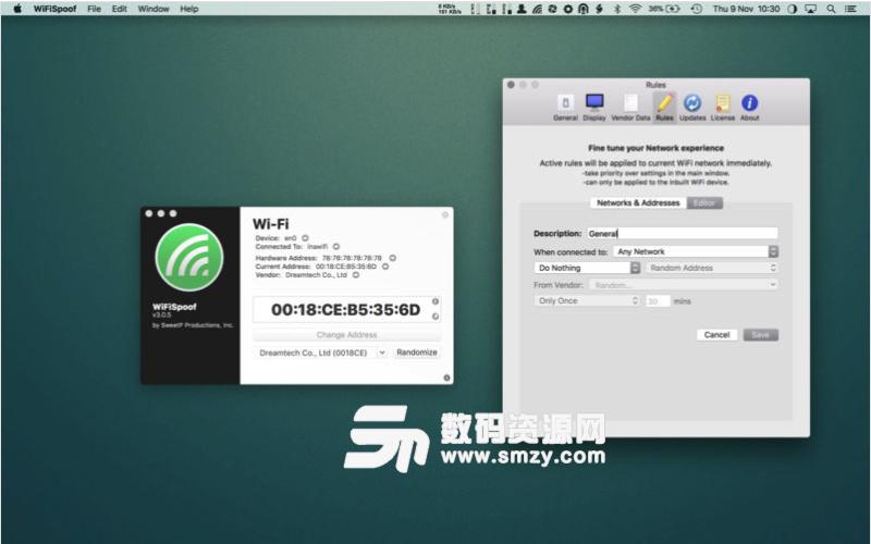 WiFiSpoof Mac特别版