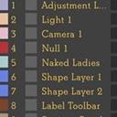 AE脚本图层标签颜色批量管理工具
