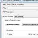 PDF2Word Converter免费版
