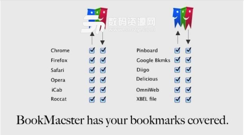 BookMacster苹果电脑版特色