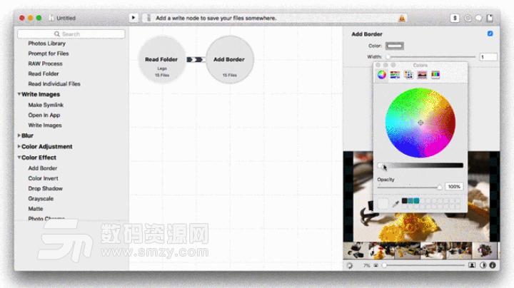 Mac Retrobatch批量水印添加以及图片编辑方法截图