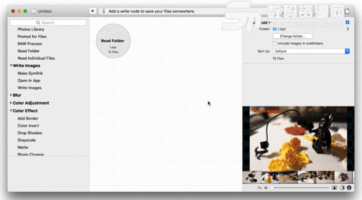 Mac Retrobatch批量水印添加以及图片编辑方法特征