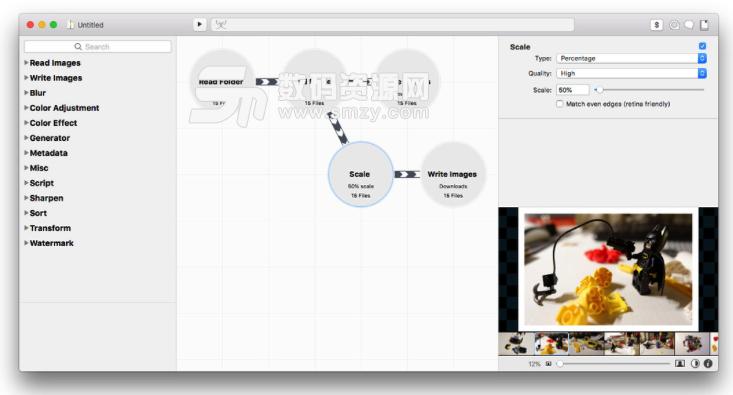 Mac Retrobatch批量水印添加以及图片编辑方法