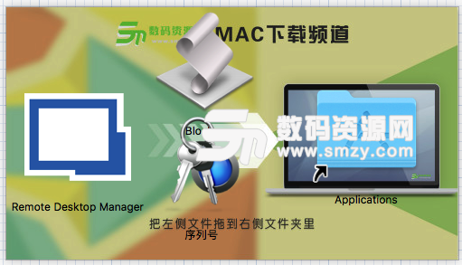 Mac Remote Desktop Manager 破解方法!