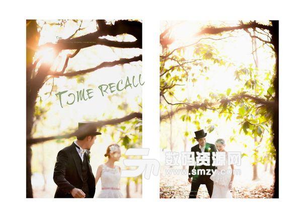 婚纱照相册模板 时光记忆 06