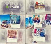 温馨空间展示家庭纪念相册AE模板