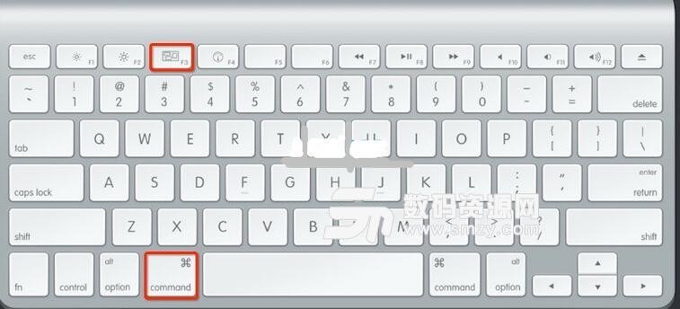mac怎么快速回到显示桌面?
