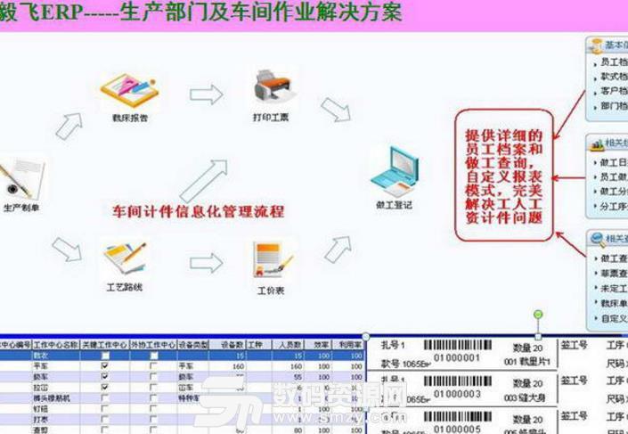 毅飞服装ERP管理软件正式版图片