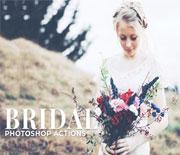经典婚纱照片后期处理动作