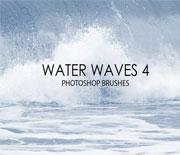 15个高品质水波浪花笔刷