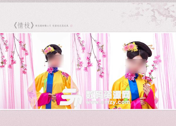 摄影写真模板 情枝 04