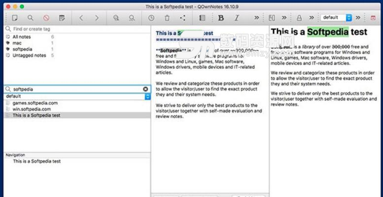 QOwnNotes for mac