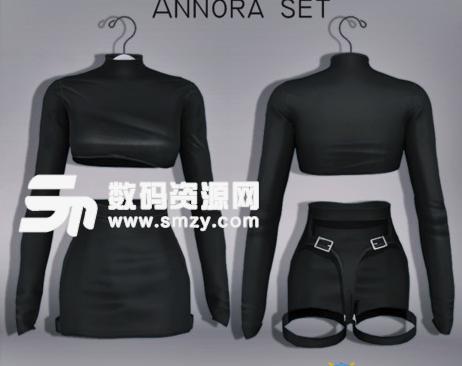 模拟人生4性感女性皮革套装MOD