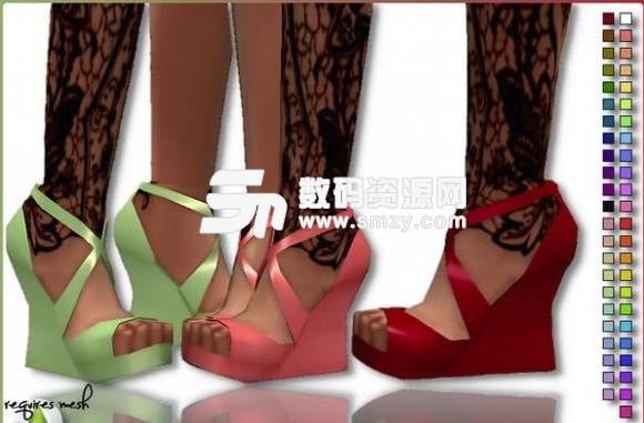 模拟人生4英格瓦高跟鞋MOD