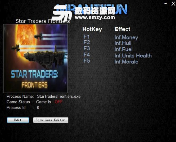 星际贸易前沿五项修改器