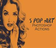 好看的POP效果照片动作
