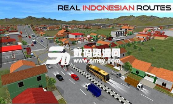 印尼巴士模拟器安卓最新版(趣模拟驾驶游戏) v2.8.1 官方版