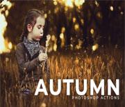 超值经典50款秋季照片处理动作