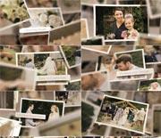 温馨家庭婚礼纪念相册AE模板