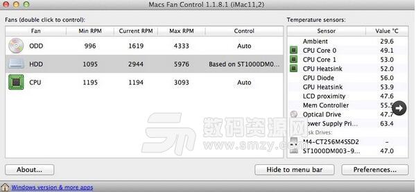 Macs Fan Control Mac最新版