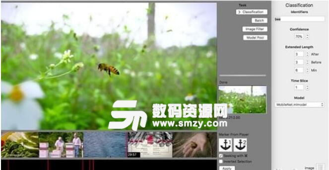 Scene Selector for mac